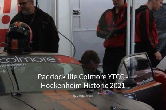Paddock life Colmore YTCC - Hockenheim Historic 2021 - MyAlbum