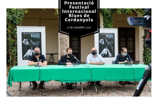 Presentació Festival Internacional Blues de Cerdanyola - MyAlbum