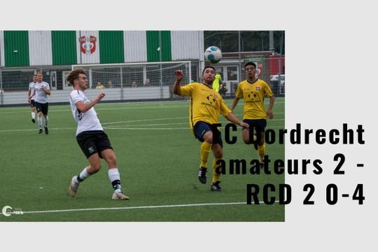 FC Dordrecht amateurs 2 - RCD 2 0-4 - MyAlbum