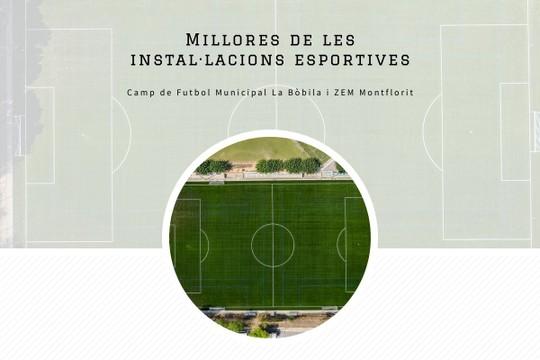 Millores de les instal·lacions esportives - MyAlbum