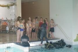 Foto's van Zwembad uit Drunen - Kinderfeestje Jamie en Naomi