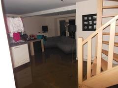 Foto's van Huizen en straten uit Slenaken - Hoeve A gen Water wateroverlast 29-7-2012