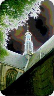 Foto's van Huizen en straten uit Nieuwolda - Kerk in Alkmaar