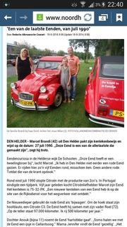 Foto's van Citroën uit Den Helder - 2cv - 19 augustus 2014