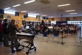 Foto's van Dagje weg uit Goes - Workshop Pontes Big Band Lier & Big Band Zeeuwse muziekschool - 3 maart 2012