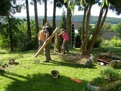 Renovatie tuin en huis Feuerscheid augustus 2012