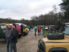Foto's van Land Rover uit Hoevelaken - Rit Nijmegen 2006