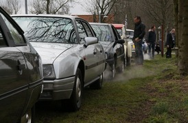 Foto's van Citroën uit Vijfhuizen - CX proloog -3 maart 2013