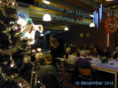 Foto's van Nieuws uit Enschede - Kerstdiner Pathmos Actief - 18 december 2014