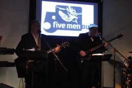 Foto's van Gala uit Venlo - Five Men Out bij