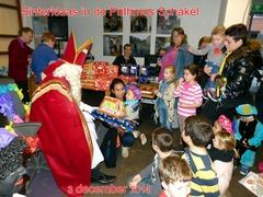 Sinterklaas in de Pathmos Schakel - 3 december 2014