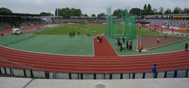 Foto's van Atletiek uit Hengelo OV - Open Gelders-Overijssels Kampioenschap in FBK Stadion te Hengelo - 1 juni 2013