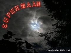 Super-bloedmaan - 28 september 2015
