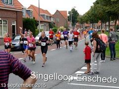 Singelloop - Pathmossingel - 13 september 2015