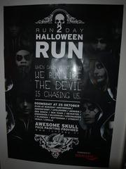 Foto's van Gala uit Leeuwarden - Halloweenrun Run2day - 25 oktober 2014