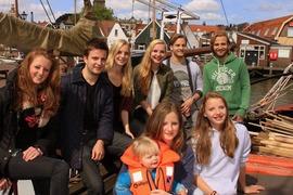 Foto's van Nederland uit Monnickendam - Weekendje zeilen met de familie Chatrou (Chateauroux/Markermeer) 02-06-2012