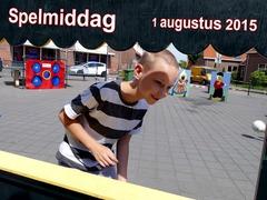Foto's van Nieuws uit Enschede - Vakantieactiviteiten Kidsplein Pathmos - Spelmiddag - 1 augustus 2015