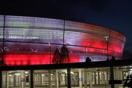 Stadion Wrocław - oświetlenie