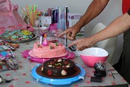 Foto's van Verjaardag uit Haarlem - Fenne is 5 jaar geworden