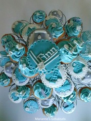 Foto's van Taart uit Damwoude - Marianne's Cupcakes, Mail voor info naar mariannevenema@hotmail.com
