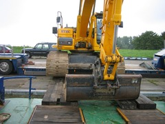 Foto's van Boot uit Urk - Gerlinde werk IJburg 2010/2011