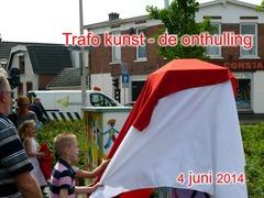 Foto's van Nieuws uit Enschede - Onthulling trafokasten - Pathmosschool - 4 juni 2014
