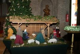 Foto's van  uit Enschede - 2014 Kerstviering Marcellinusschool