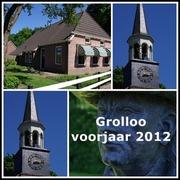 Foto's van Huizen en straten uit Grolloo - Grolloo-voorjaar 2012