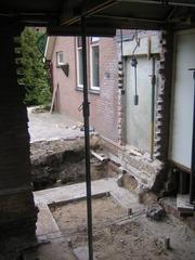Foto's van Huizen en straten uit Tweede Exloermond - Verbouwing 2008