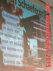 Jan Schaeferprijs 2015 - 19 september 2015