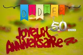 Foto's van Verjaardag - Anniversaire de Didier