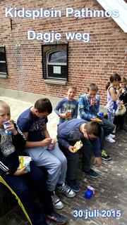 Kids plein Pathmos - dagje weg - 30 juli 2015
