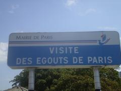 Visite des égouts de Paris
