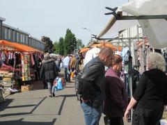 Foto's van Huizen en straten uit Nijmegen - Rommelmarkt Jerusalem 2012