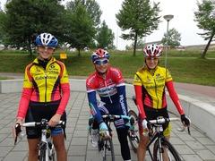Foto's van Wielrennen uit Goes - Paarse Ploeg Grand Tour Johnny Hoogerland 22 september 2013