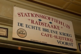 Cafe Radstaake Voorst 17-01-'09