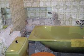 verbouwing badkamer januari 20011