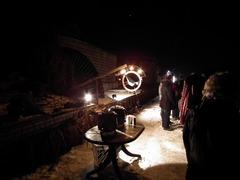 Foto's van Huizen en straten uit Grootegast - schaatsen feb 2011
