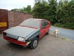 Foto's van Citroën uit Schoondijke - restauratie bx sport