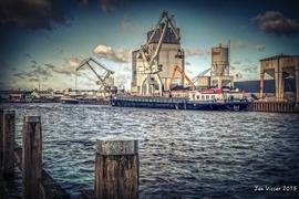 Foto's van  uit Enschede - Haven Enschede - 2 maart 2015