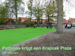 Foto's van Nieuws uit Enschede - Pathmos Plaza - aanleg vanaf 29 april 2015