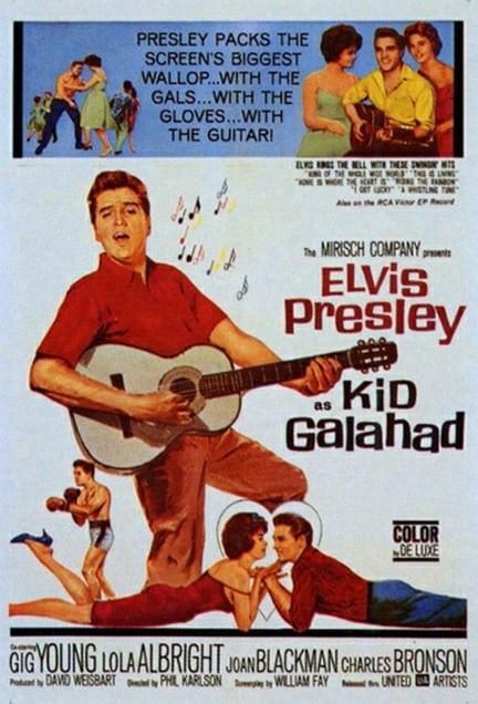 Filmposter: Kid Galahad