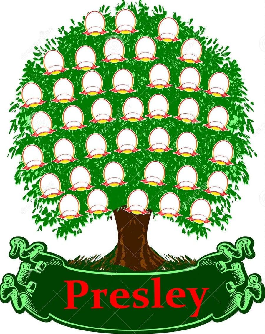 Stamboom familie Presley