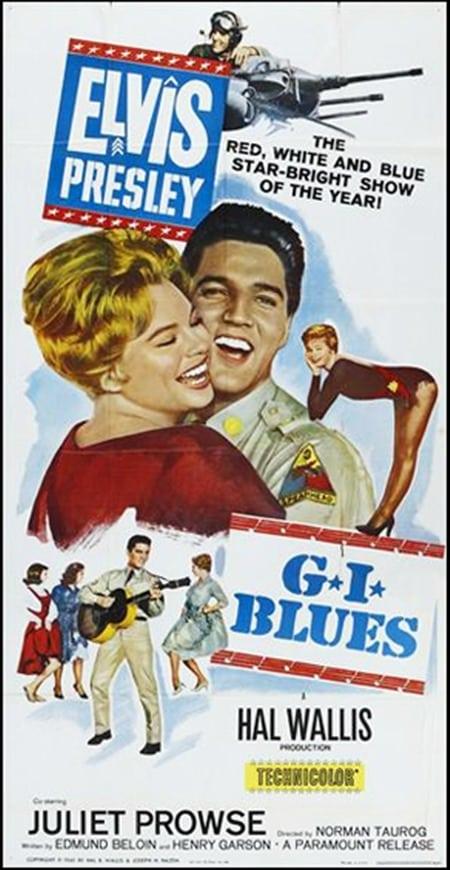 Filmposter: G.I. Blues