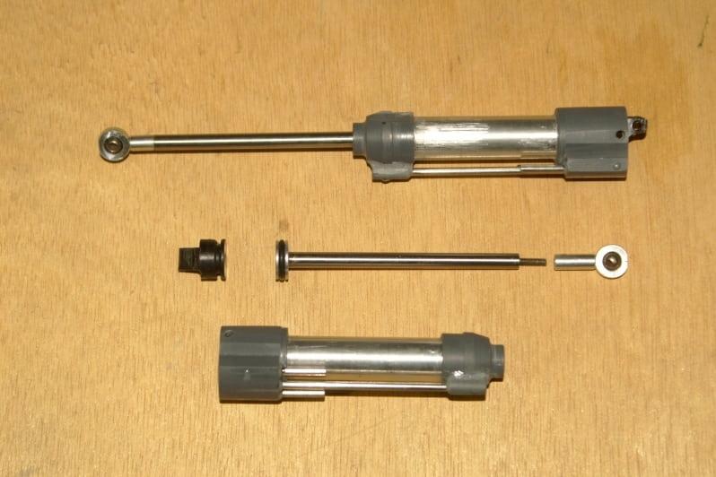 F16 Door actuator cilinder taking shape