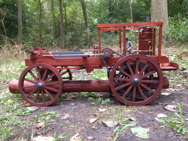 steam powered whin
