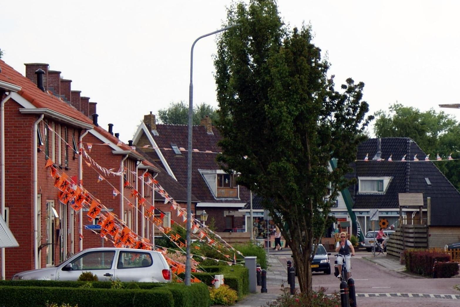 Heiligerlee Oranje 2010 Vendelstraat