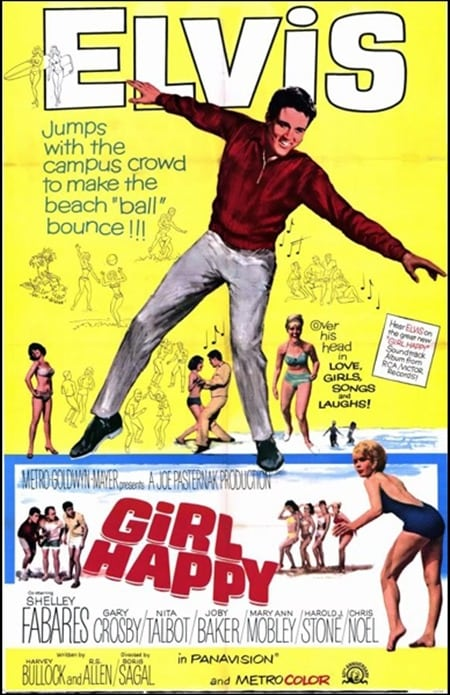 Filmposter: Girl Happy