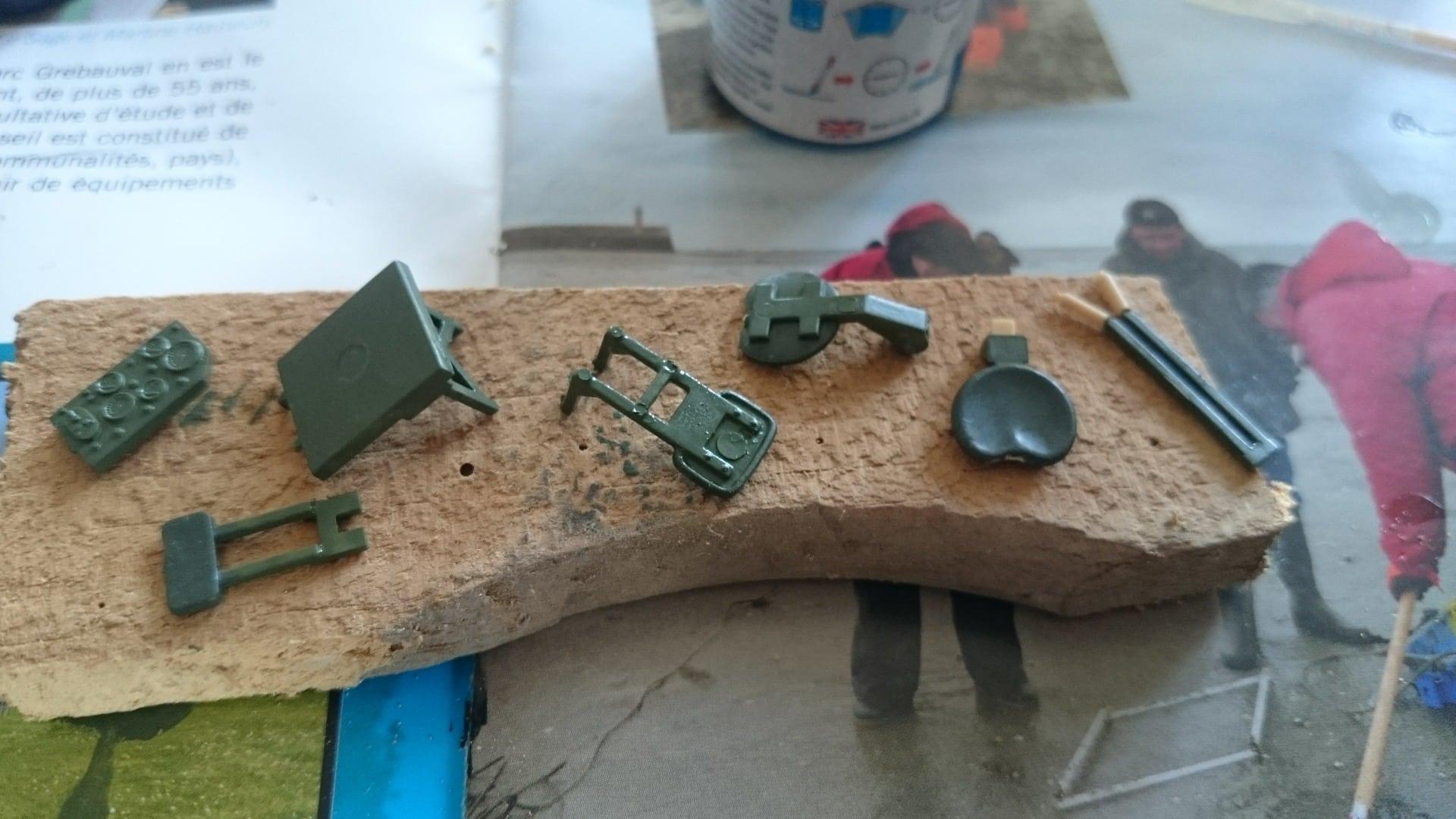M133a3 for L interieur du char de vimoutier