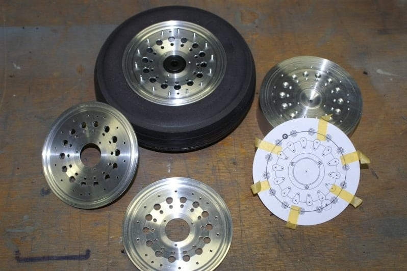 F16 Main wheel built-up